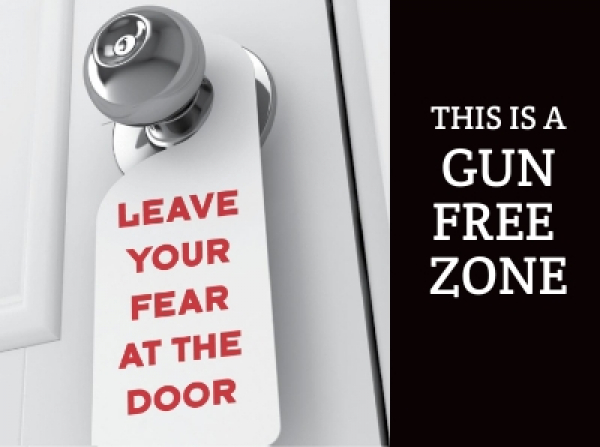 Make your space a gun-free zone